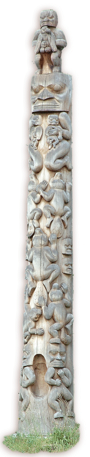 Totem Pole from British Columbia